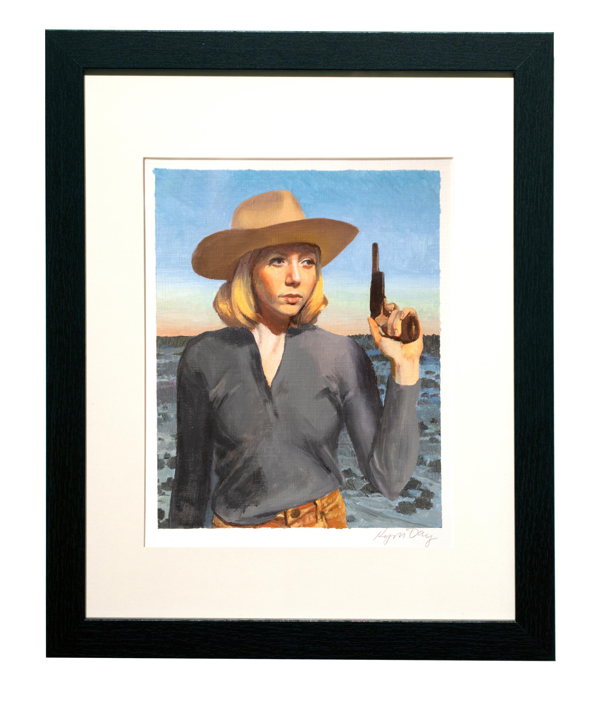 8x10 pistol cowgirl n2mjog