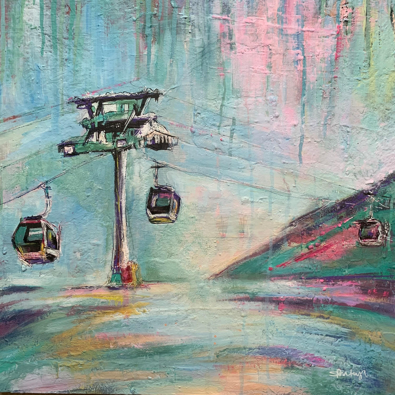 Ski lift xi 2020 bxisjg
