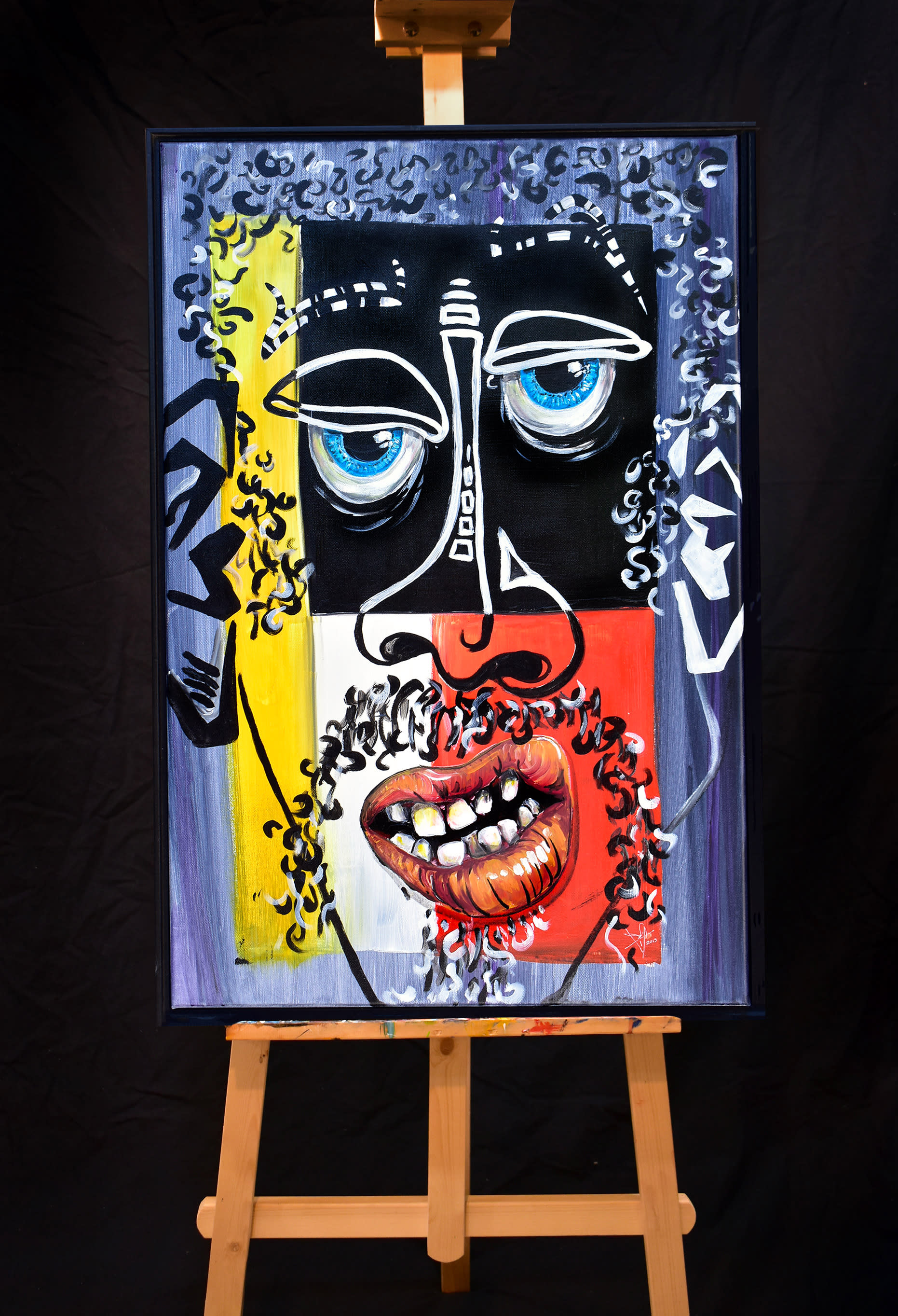 Philippe on easel opt n3w8xb