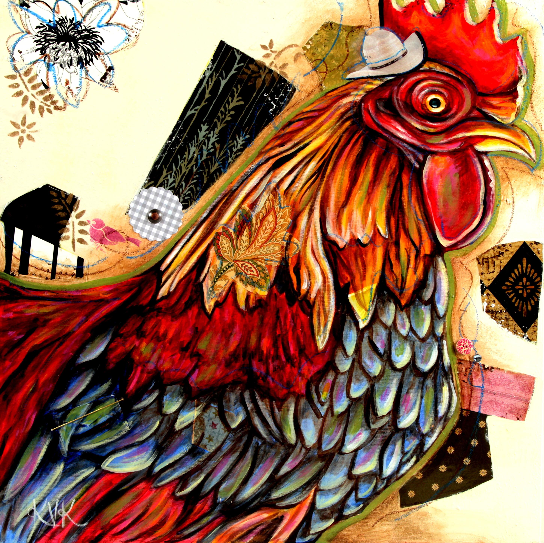 The rooster yo1dny