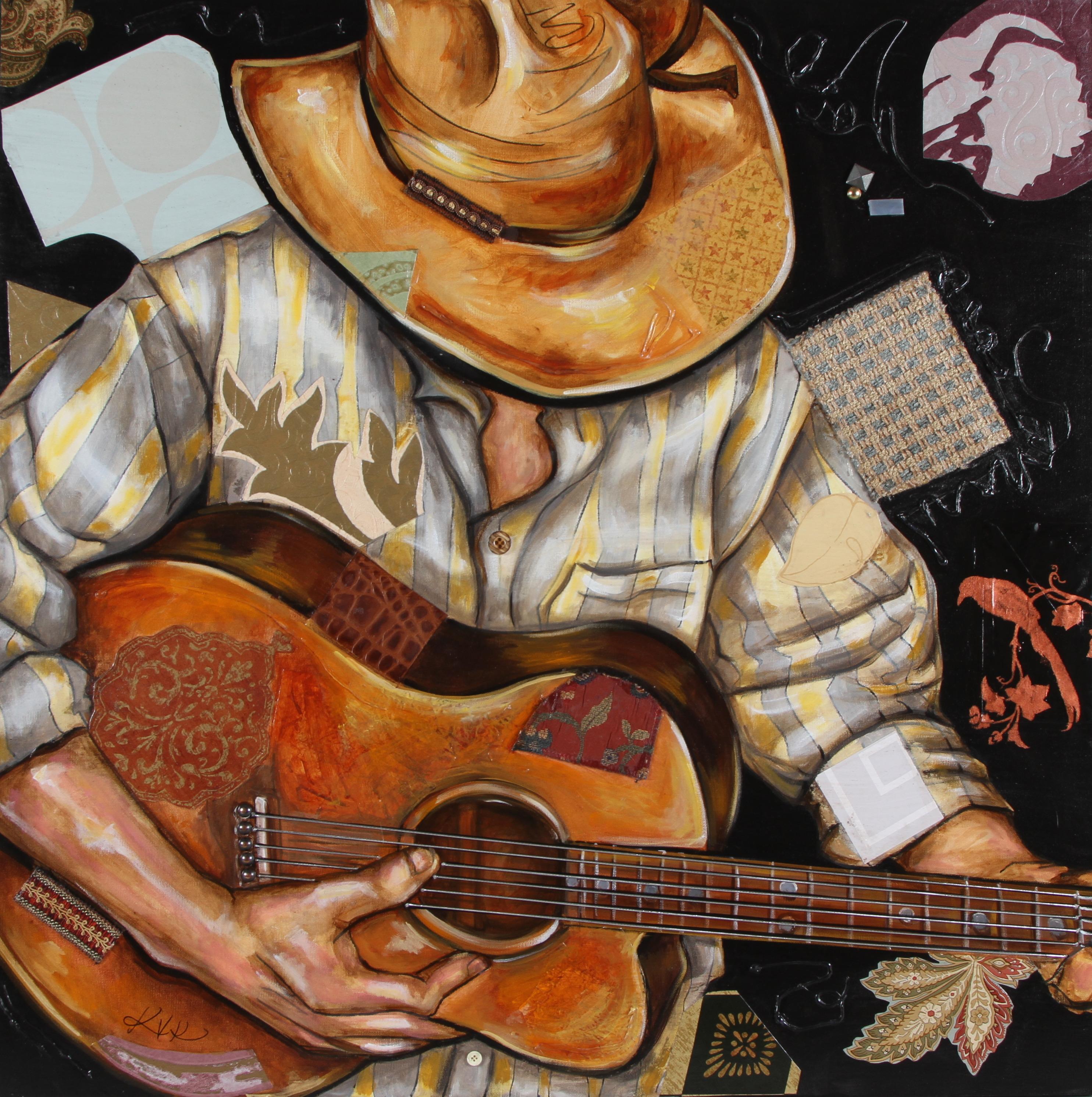 Vaquero de the acoustic guitar cwrrxv