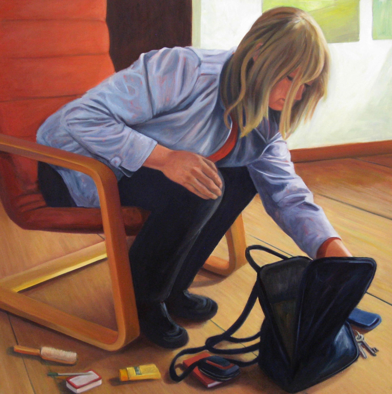 Asf barbara lidfors the purse   original painting t3gqj7