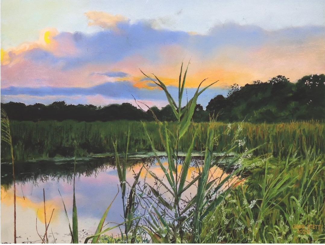 Wetlands sunset xluy3g