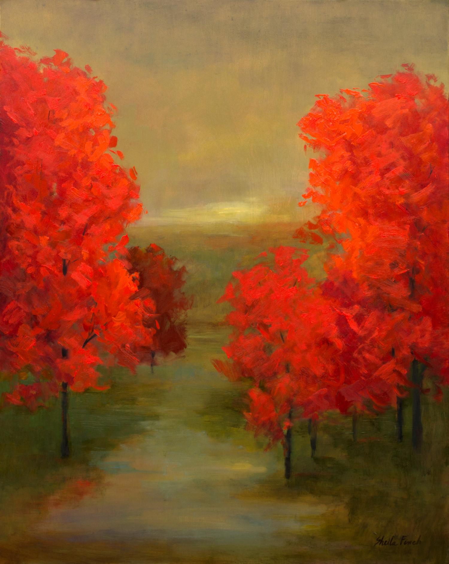 4515 autumn glow 20x16 oil anbmoj