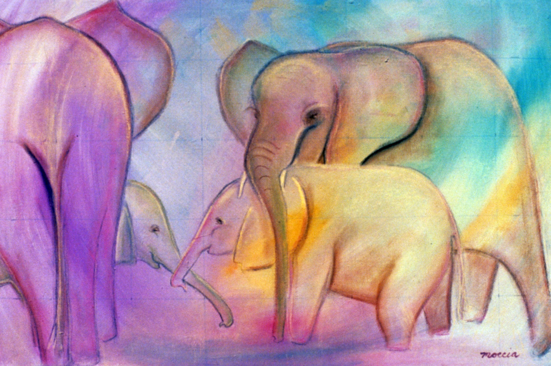 Fantasy elephants rm0sh8