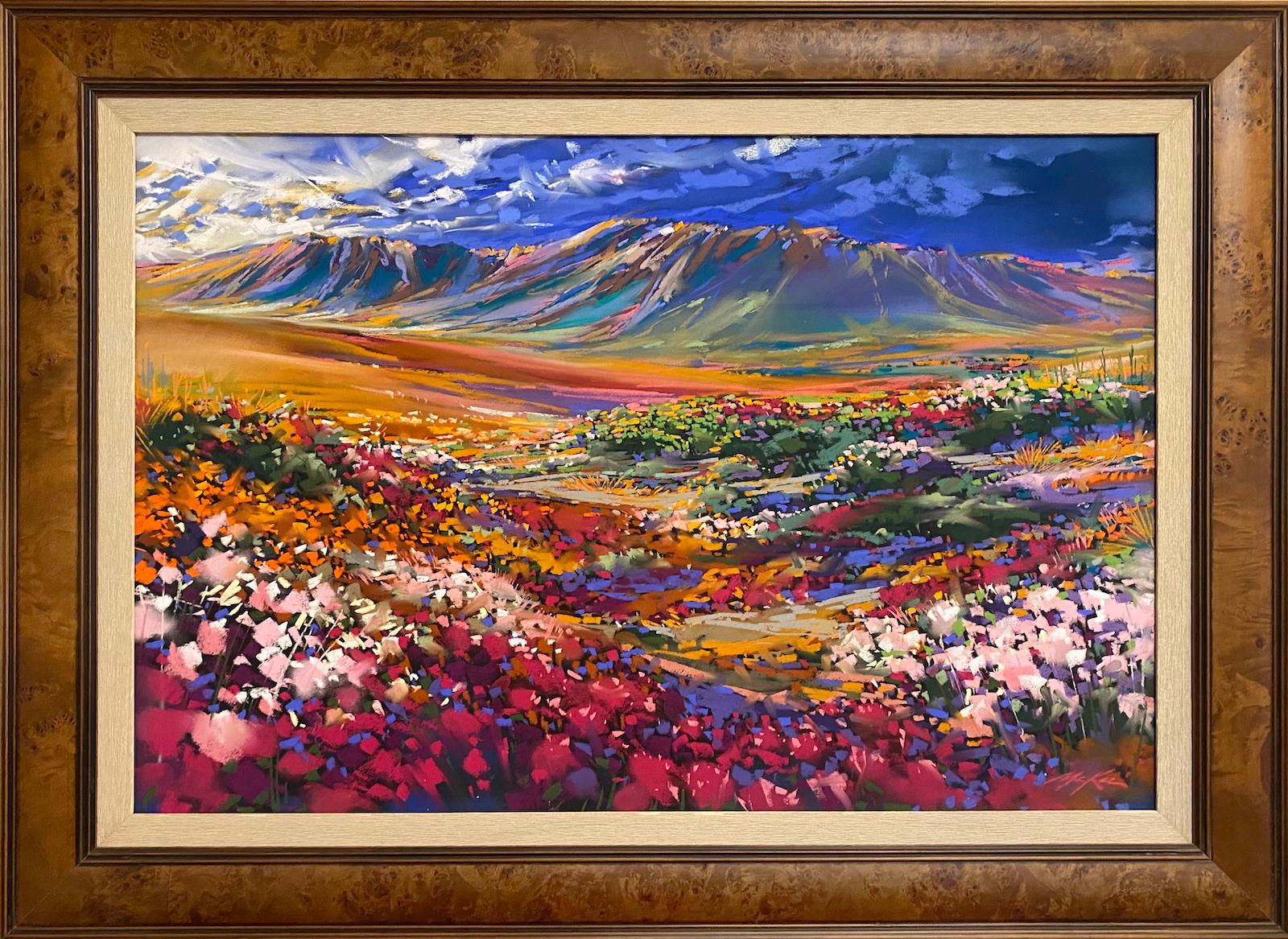 Spring desert bloom framed ed5fgw