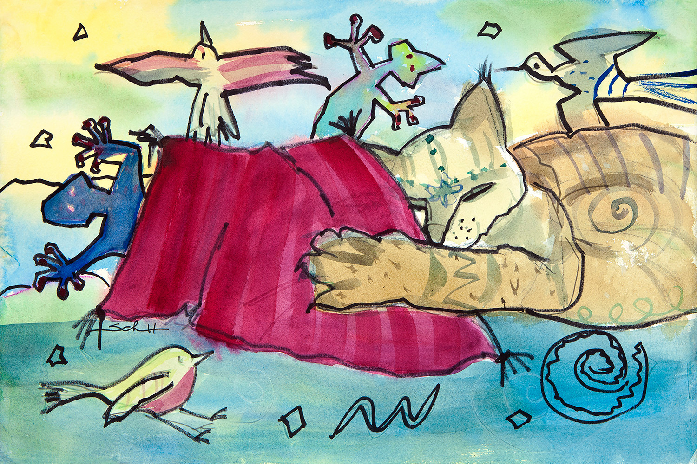 Do cats dream in color mlqlij