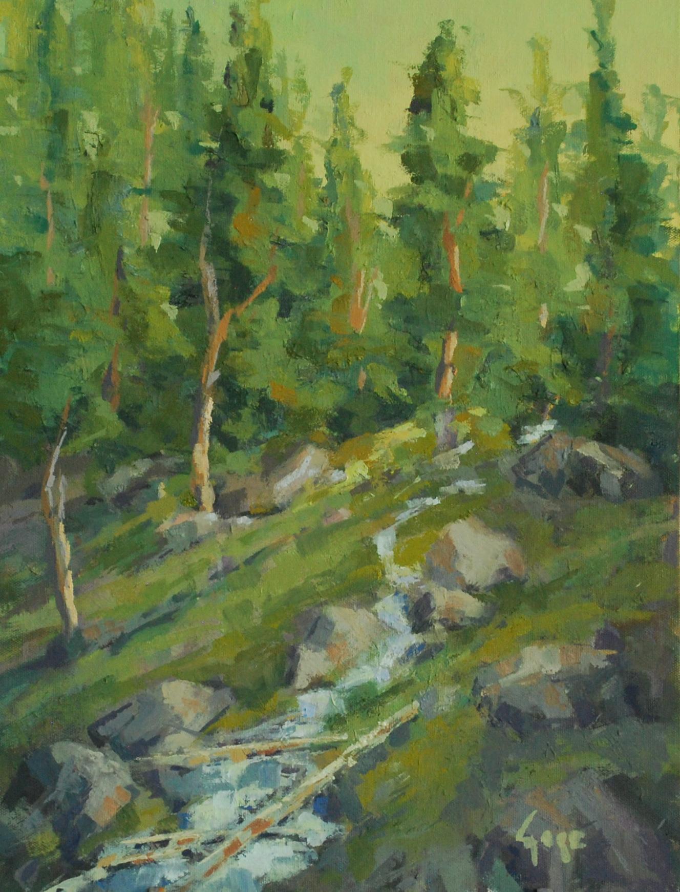Spring runoff aenyzy