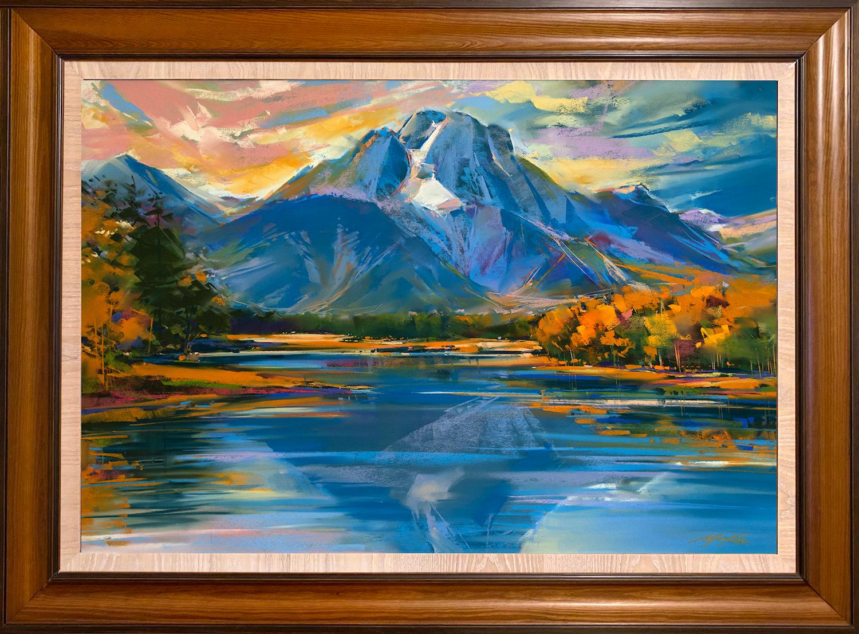 Jackson lake framed z4wjmd