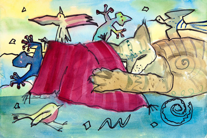 Do cats dream in color fli3f9