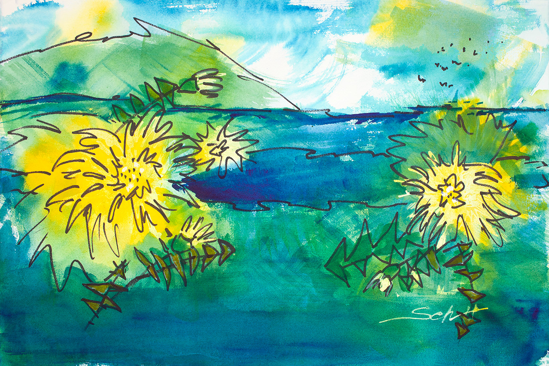 Dandelion spring ammxcz