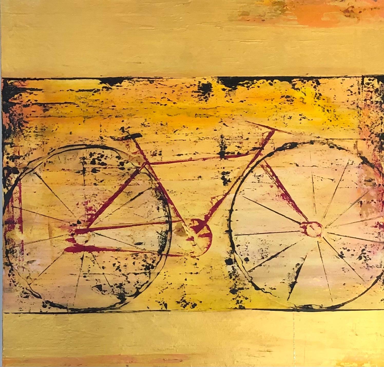 Golden bike lwfjec