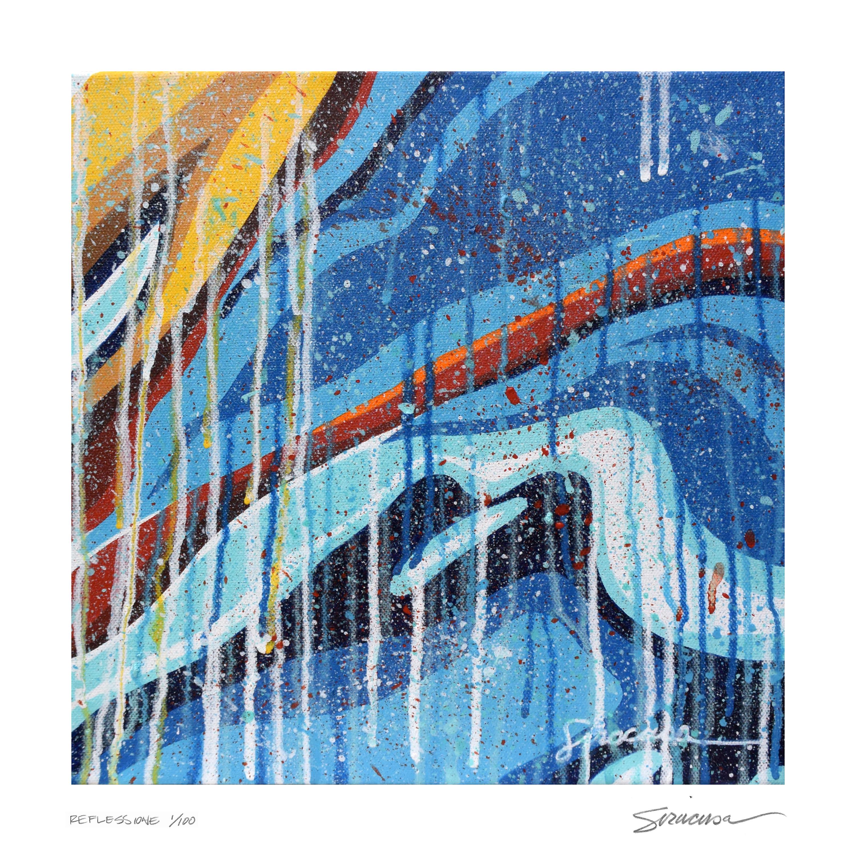 Reflessione canvas 3 limited edition print jlu4db