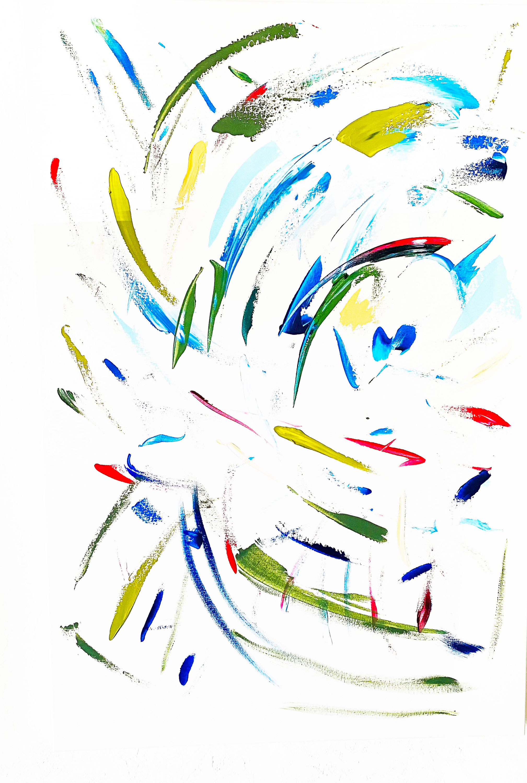 Energy barbara ziev 36 x 42 abstract acrylic on canvas 2500 brvvj2