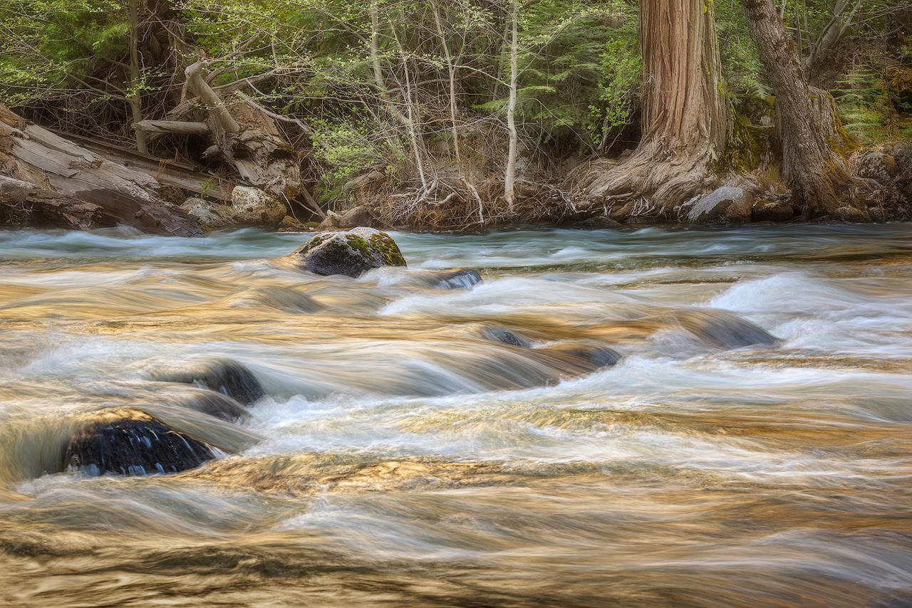 Merced river spring runoff c9ojzf