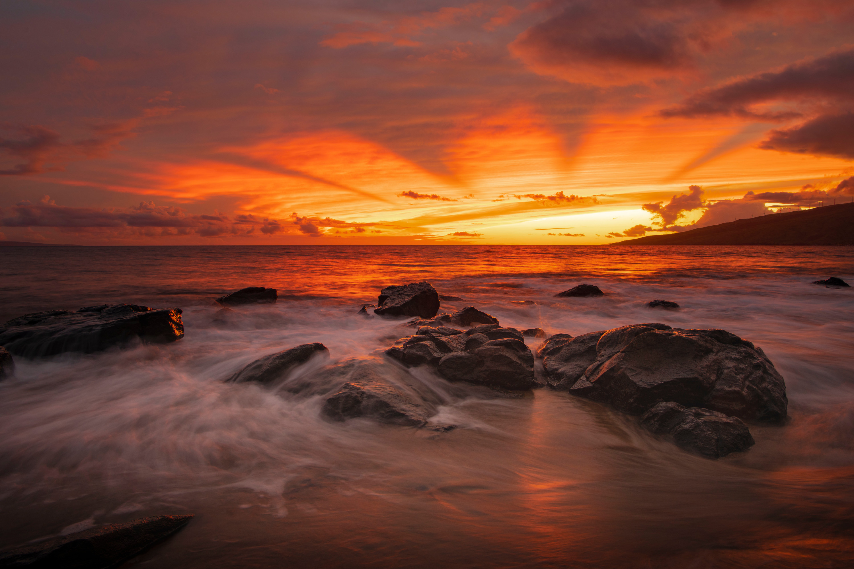 Mystical sunset 72 x 48 sndndy