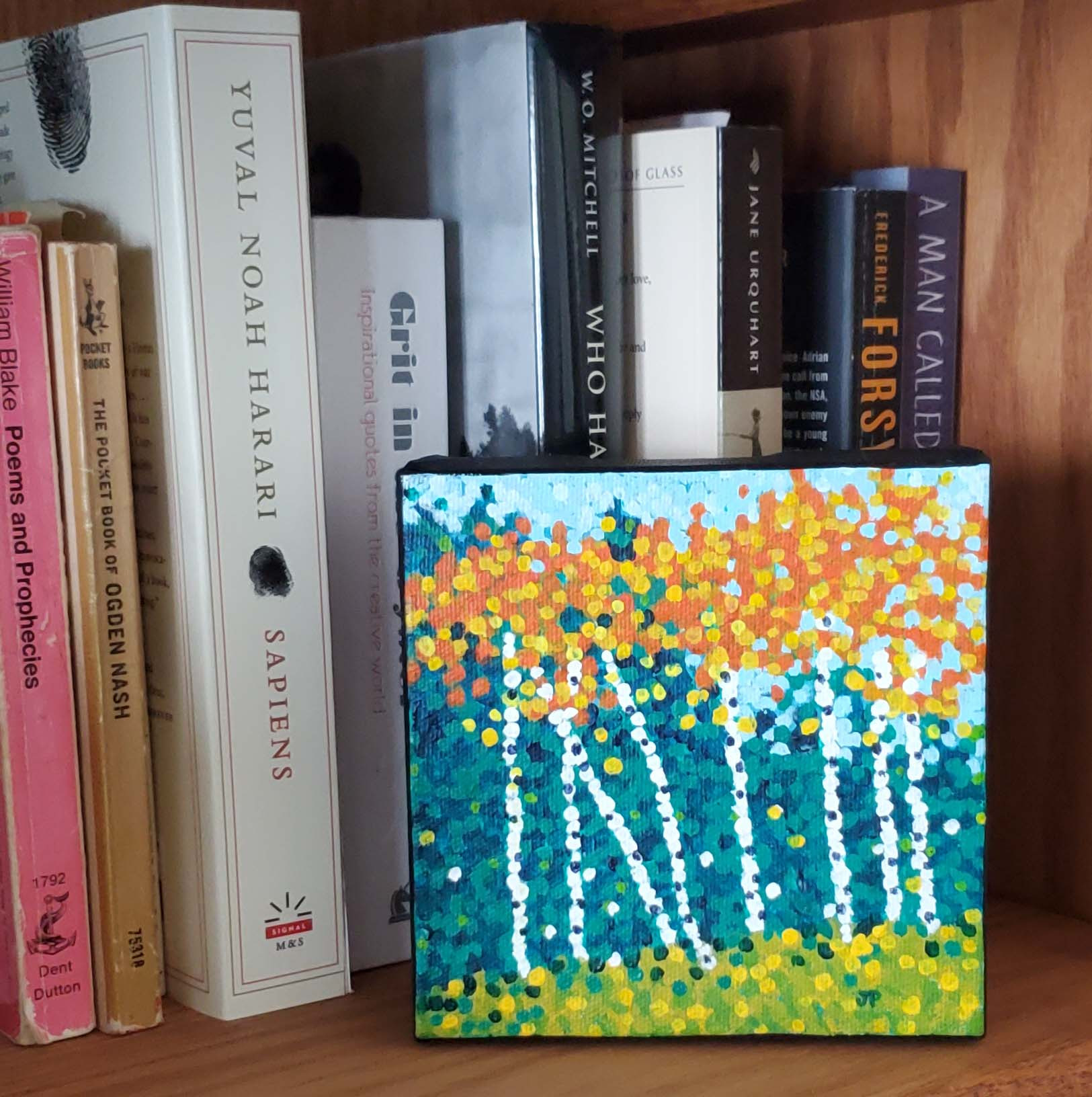 Autumn celebration bookshelf ef2opr