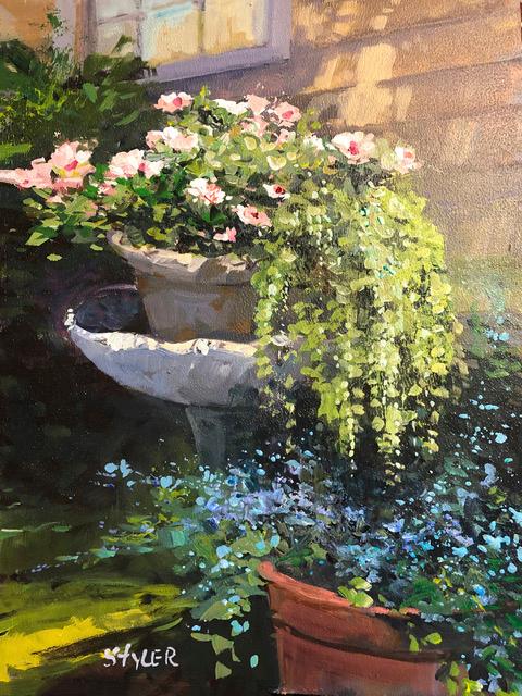 Flower pot 12x16 vfgjk2
