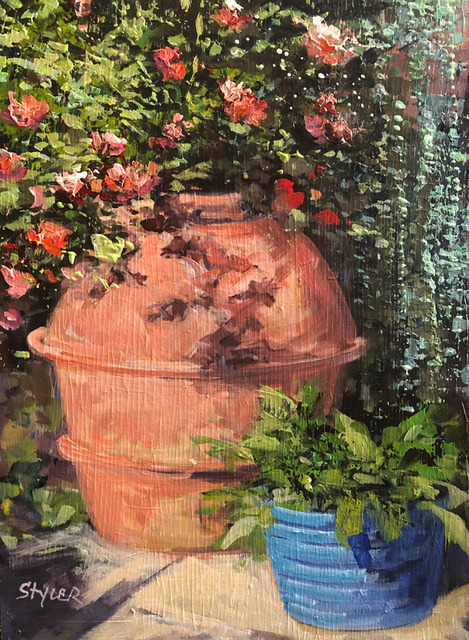 Flower pot ii 12x16 dzwmtm