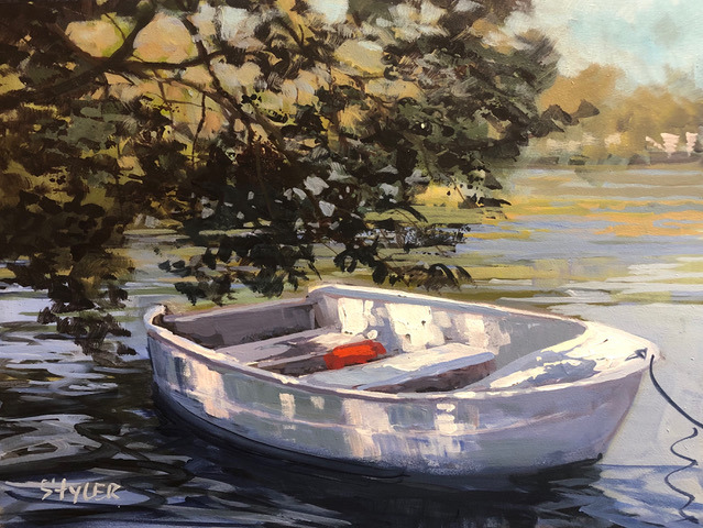 The rowboat 12x16 nrufyw