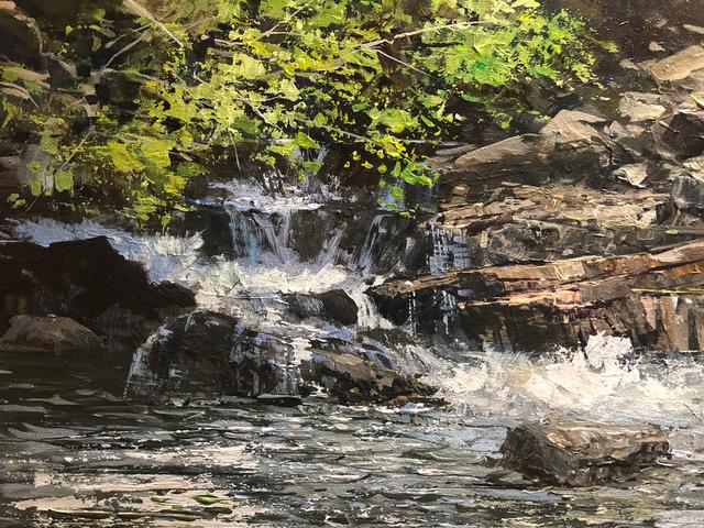 Water falls 12x16 s0wwyn