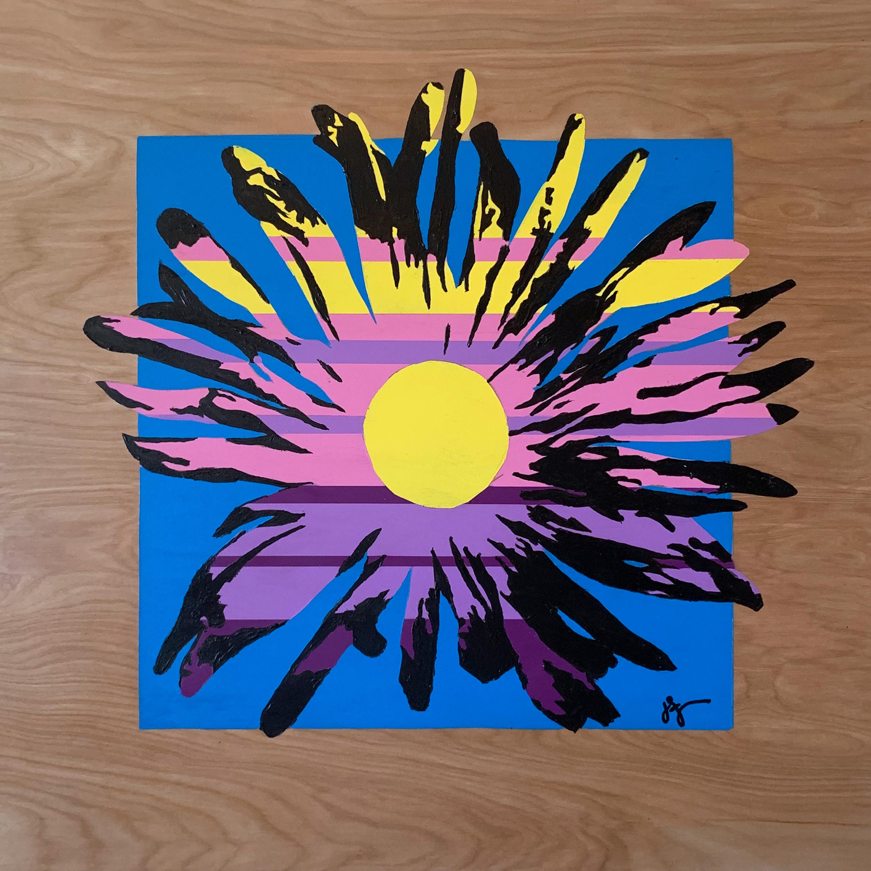 O1911 sunny daisy 2 hradwt