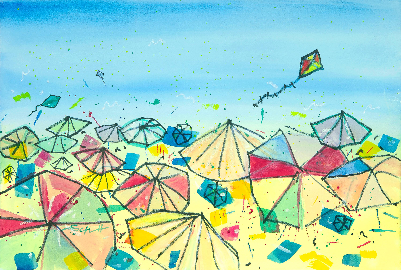 Umbrellas maeskh