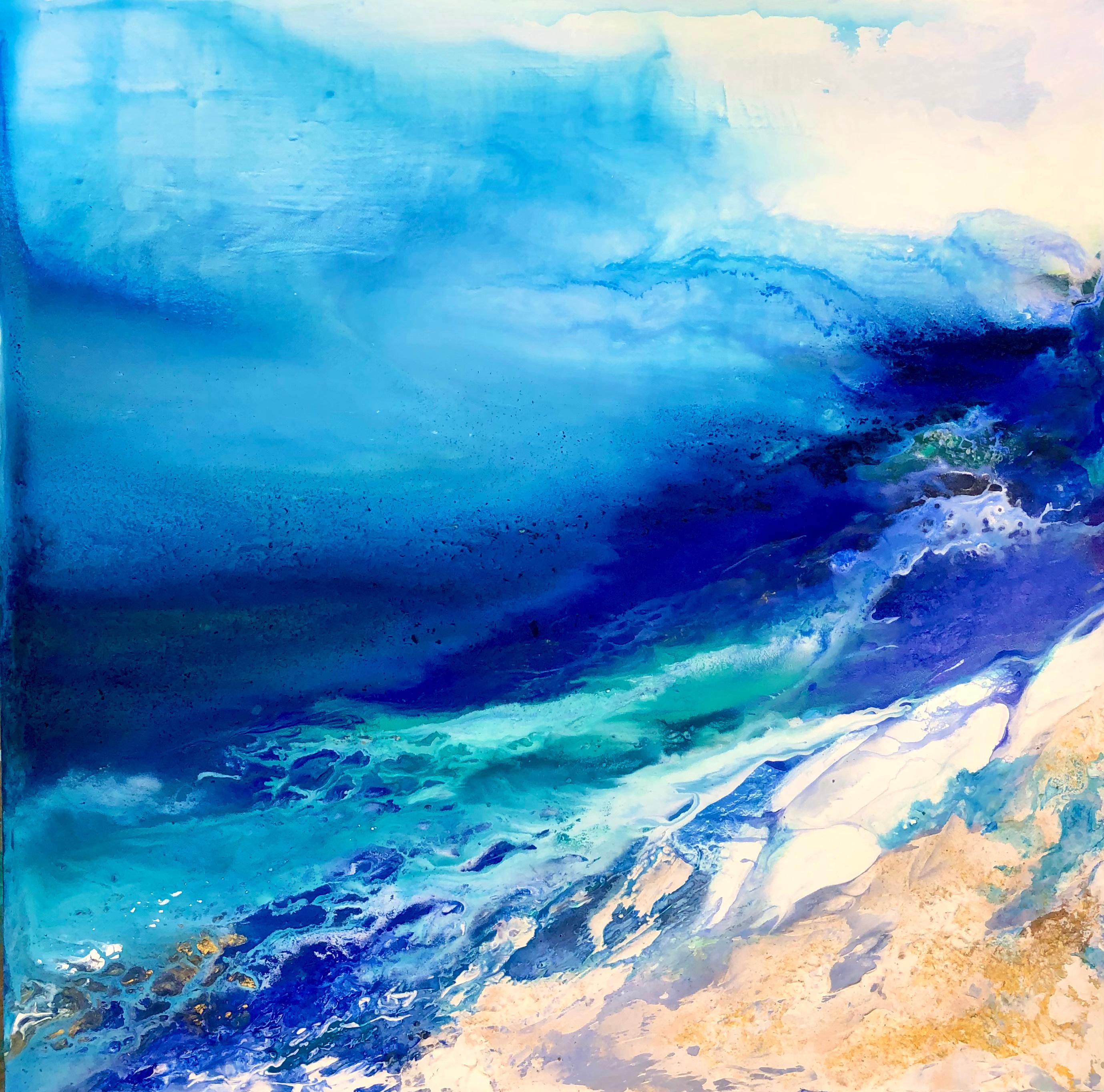 Wind driven waves bttjn0