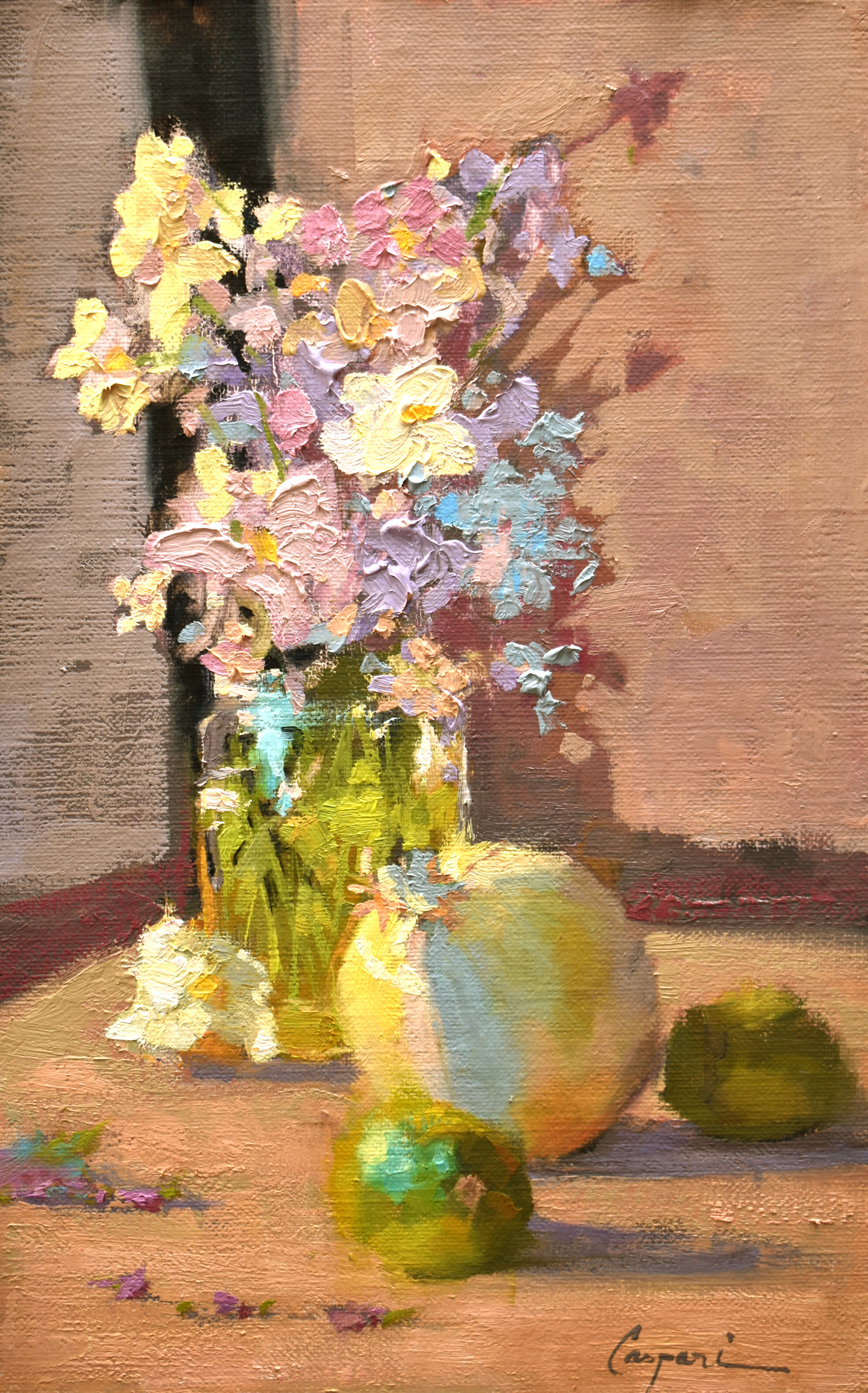 The sweet and the sour 10x16 plein air oil 2021 walecf
