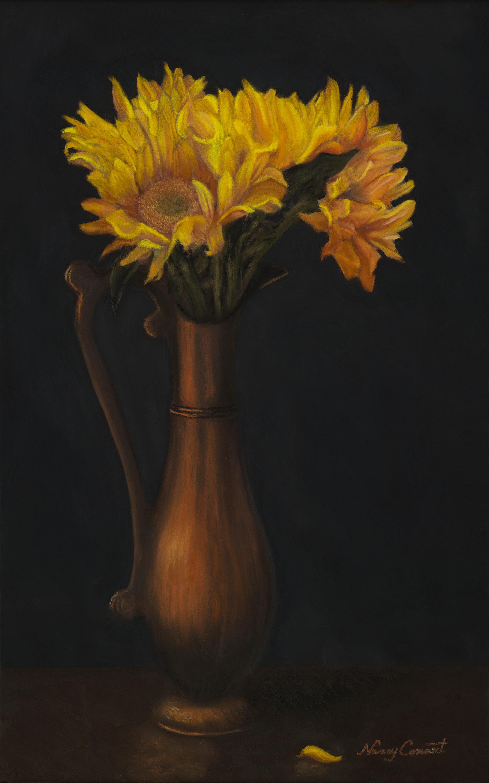 Nancy conant   sunflowers orig auto gxojkq