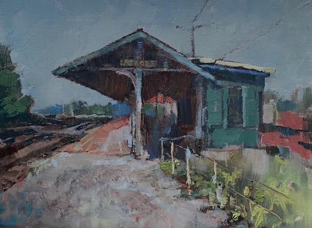 Latrobe train station h0amja