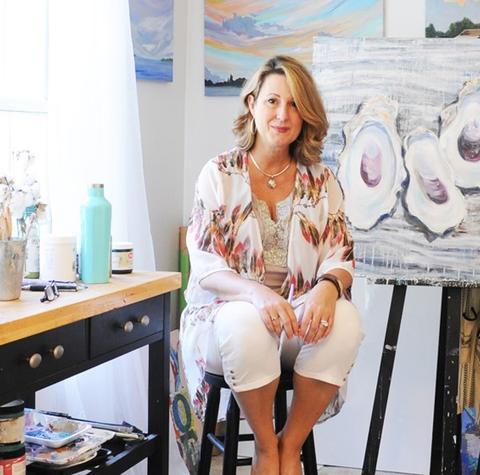 sophie dare art studio back home