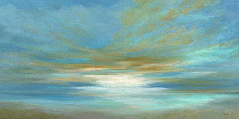 Oil painting seascape sheila finch bswjrx