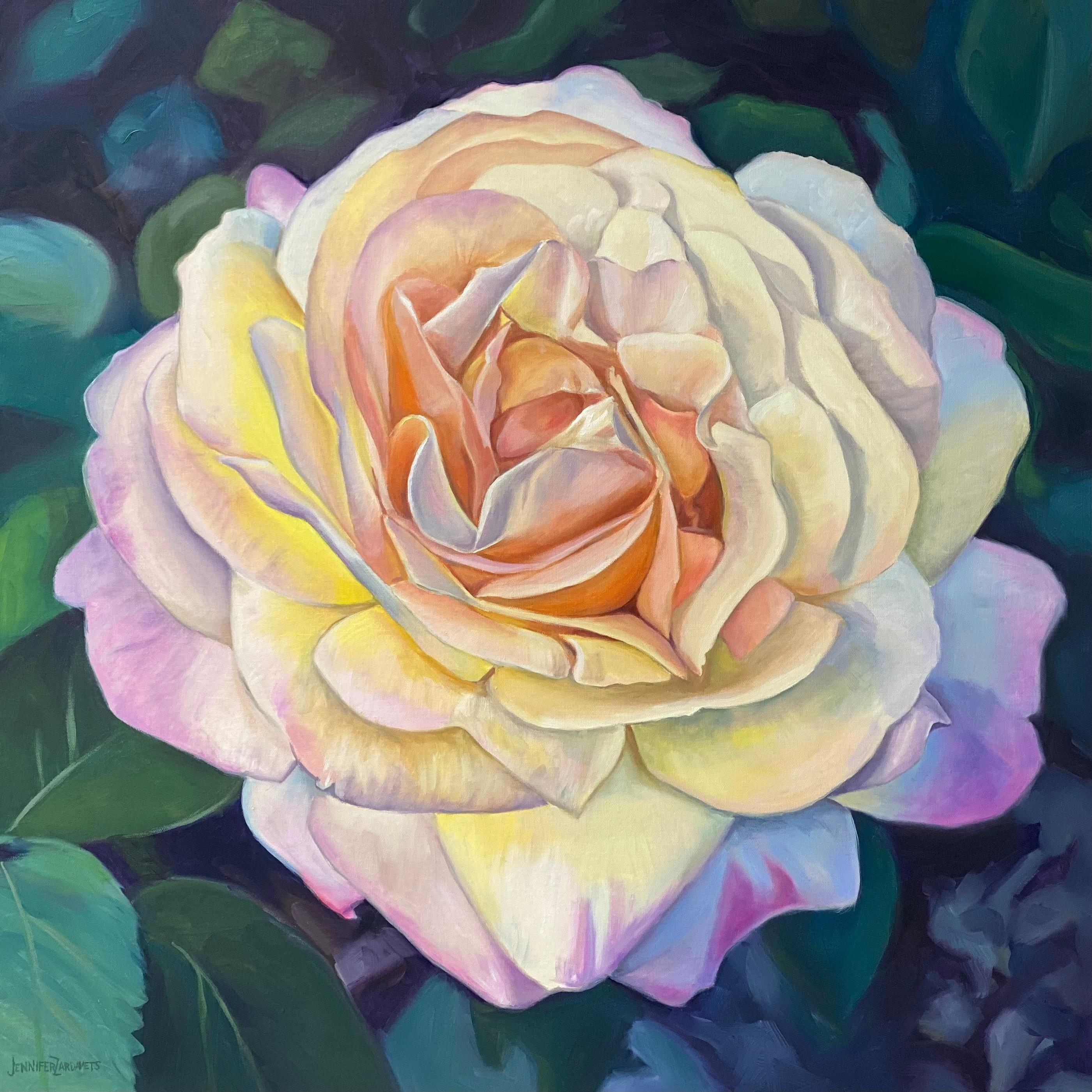 Peace rose 30x30 signed rpmsyy