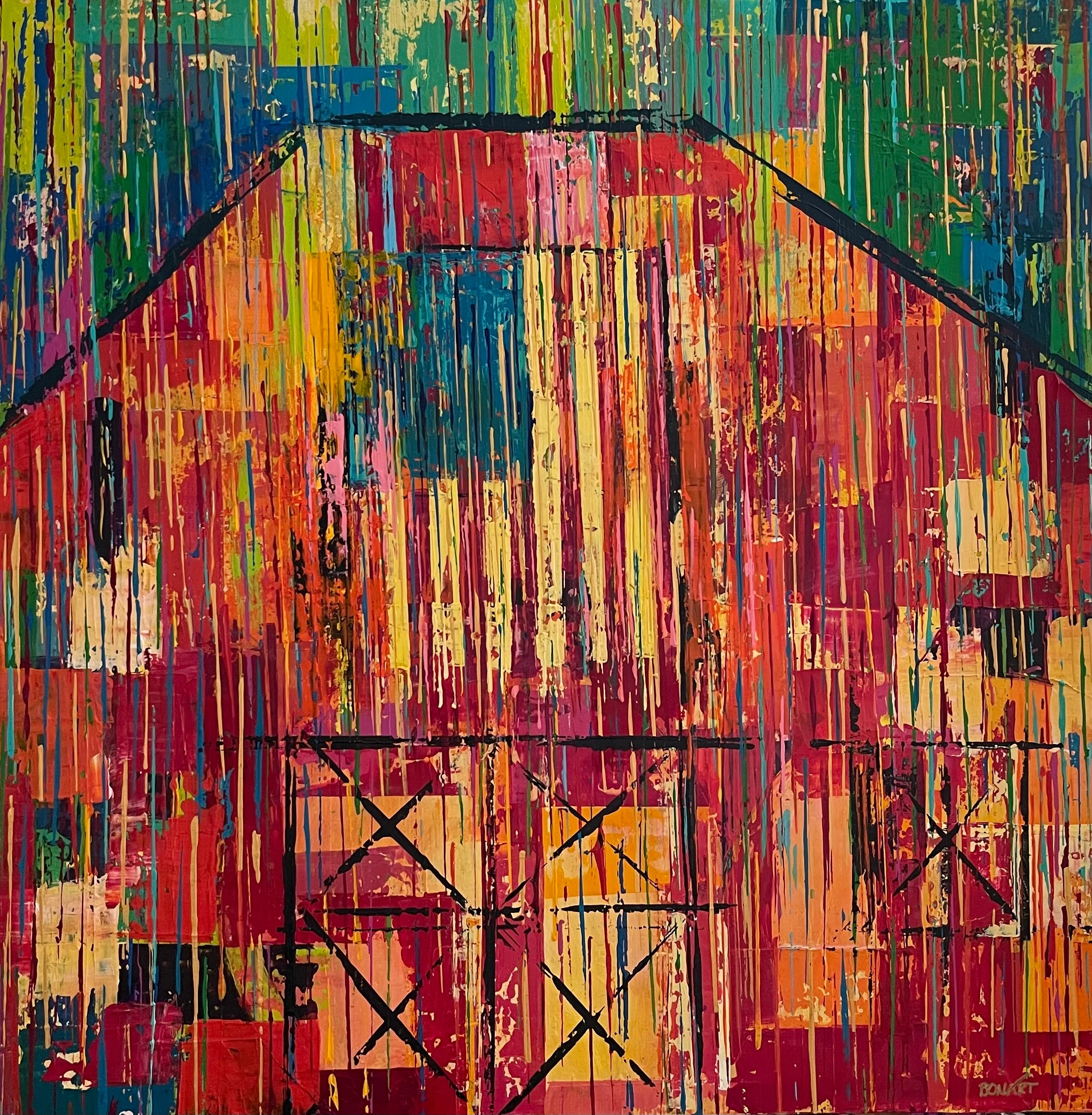 Patchwork barn cbmn34