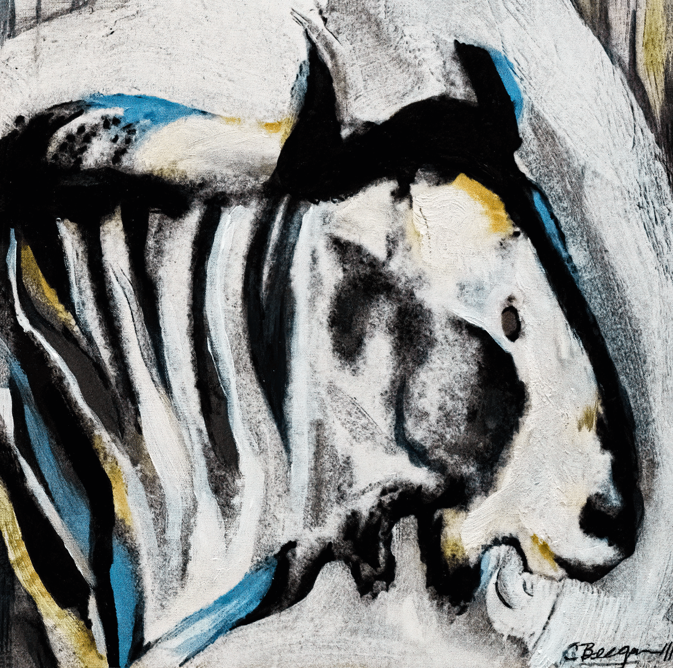 Study for wildebeest no 1 edited dsc05881 denoise clear sharpen focus igklmf