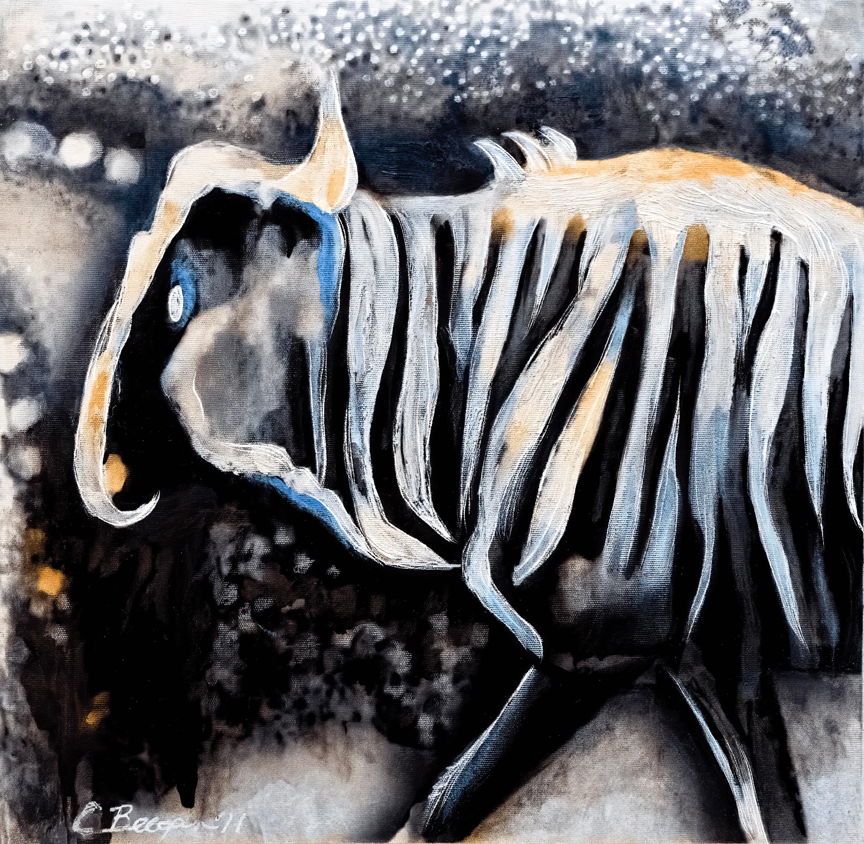 Study for wildebeest no 2  dsc05885 denoise clear sharpen focus upf2v0