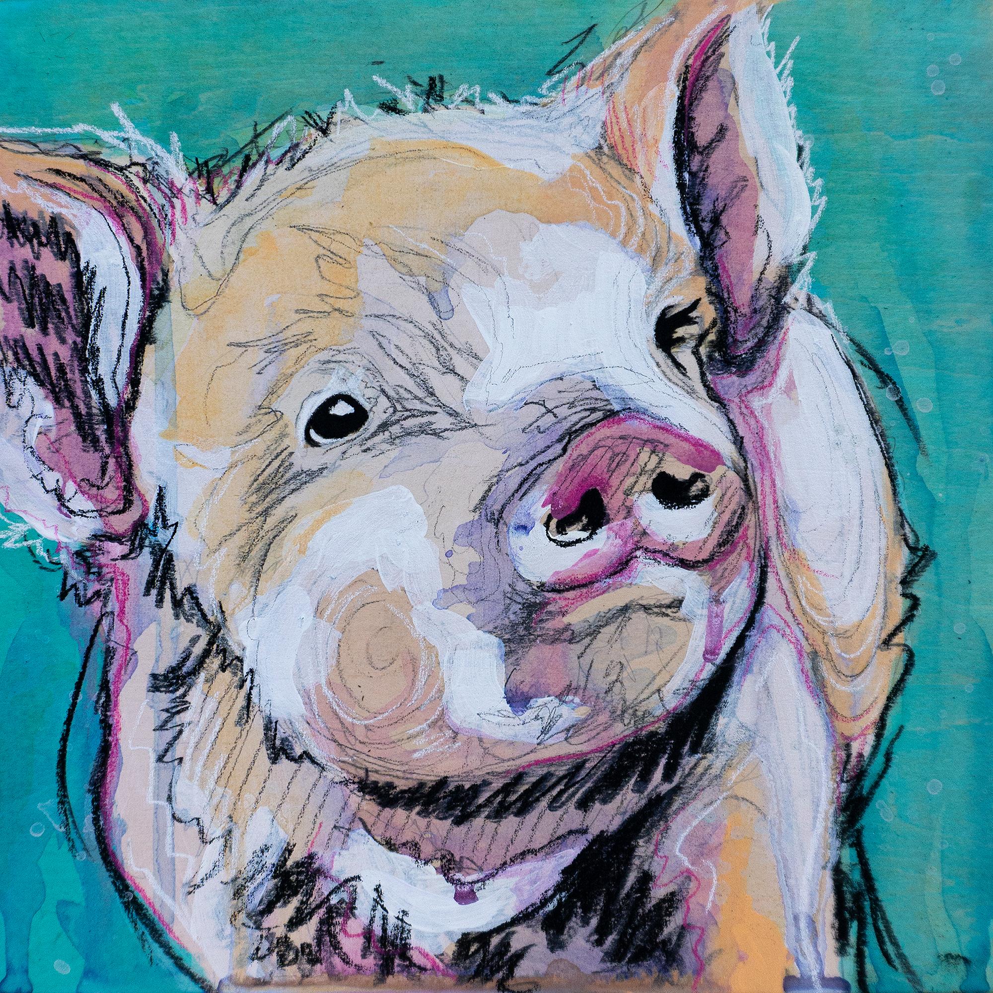 This little piggy painting final original v46dyq