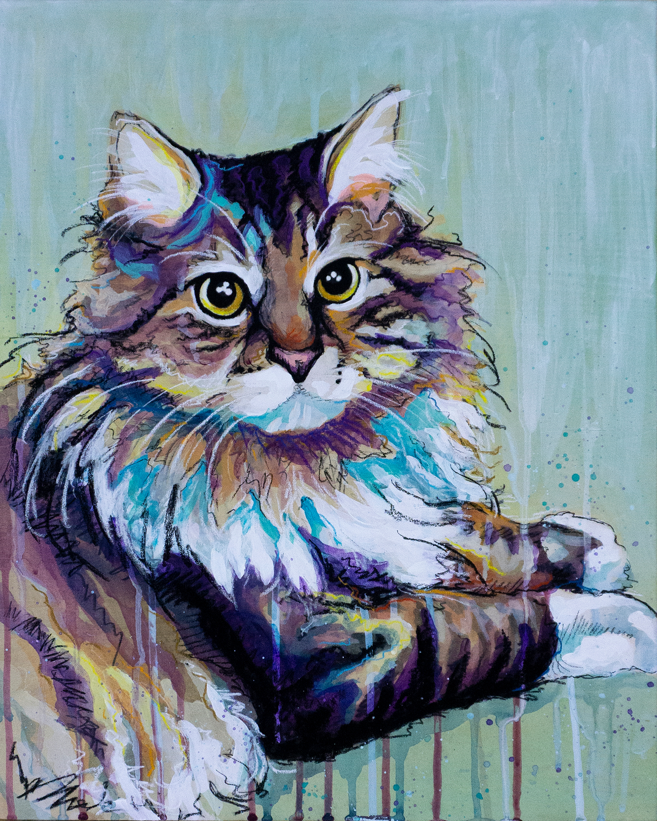 Colby cat painting final original rqds4f