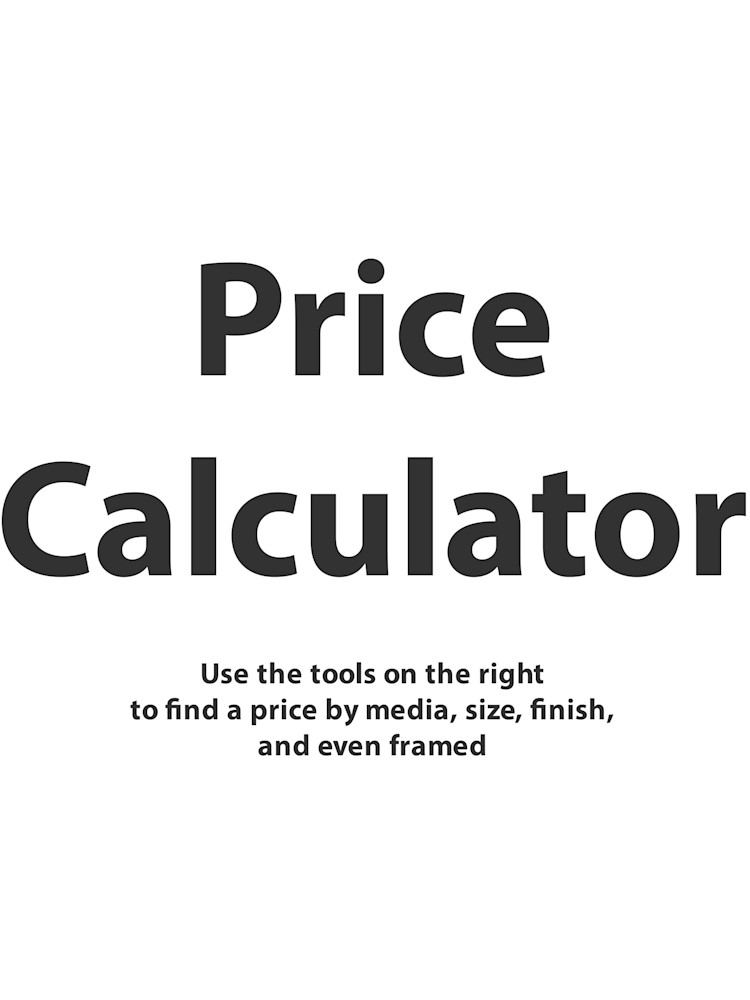Price Calculator Size Example Art   ASF Prints by Graphik Dimensions